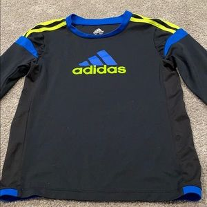 Boys adidas long sleeve shirt.